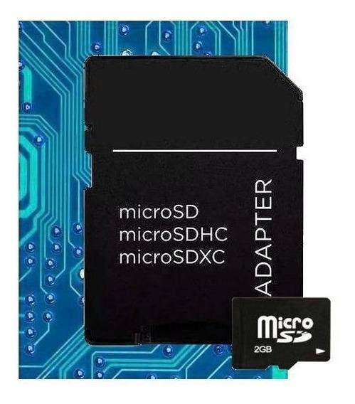 Cartão De Memória Micro Sd 2gb Tf / 002 A
