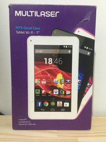 Tablet Multilaser M7s Quad Core Wi-fi - 7 - Android