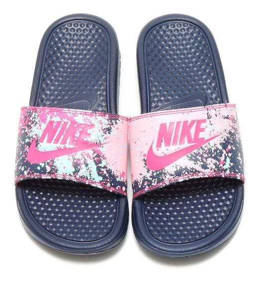 Ojotas Nike Benassi Print Mujer Envio Gratis 618919401 (0)