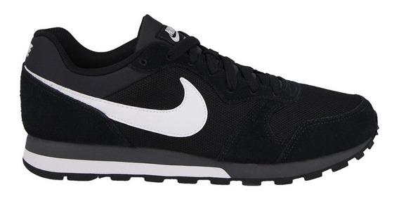 Tênis Nike Md Runner 2 Masculino - Preto E Branco