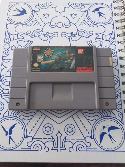 Power Rangers Zeo Battle Racers Snes Original Campinas