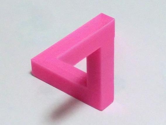 Triângulo Penrose Ilusão Ótica Mágica 3d Angulos Kit 10 Unds