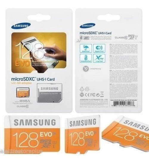 Cartão De Memória Micro Class 128gb 48mb/s Samsung