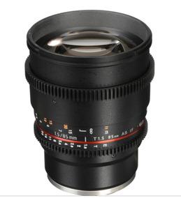 Lente Rokinon 85mm T1.5 Cine Lens For Sony Emount