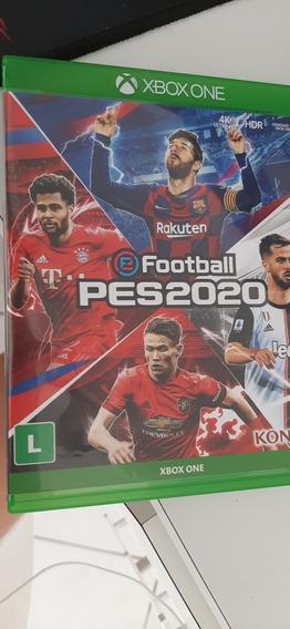 Pes 2020 Standard Edition Xbox One Semi Novo Em Bom Estado