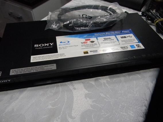 Aparelho De Blu Ray - Sony Bdp-s370 - Importado - Região A