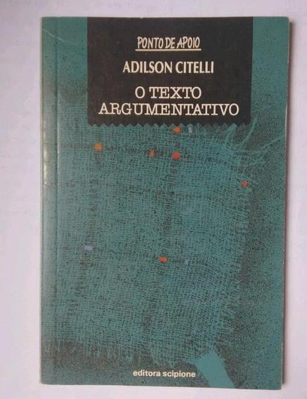 Livro O Texto Argumentativo
