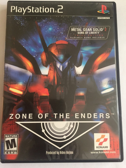 Zone Of The Enders Playstation 2 Original