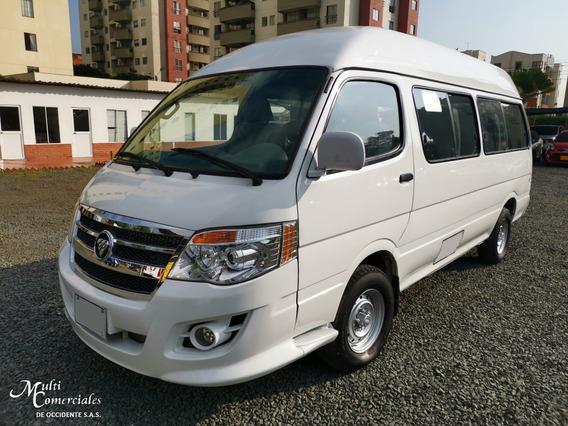 Microbus Foton Bj6536 Mod 2013, 16 Pasajeros, Serv Especial