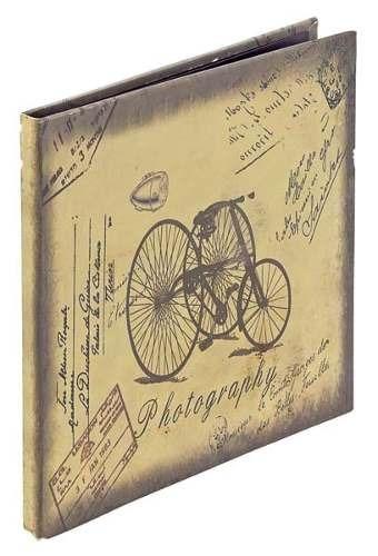 Album Fotos Triciclo Retrô 110 Páginas 24x24x2cm