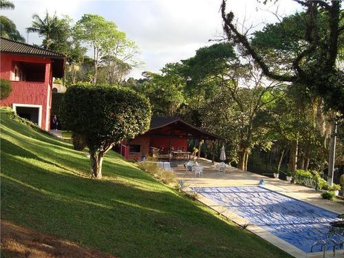 Casa Com 4 Dormitórios, 629 M² - Venda Por R$ 3.700.000,00 Ou Aluguel Por R$ 15.000,00 - Granja Viana - Carapicuíba/sp - Ca3920