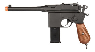 Pistola Airsoft Spring Full Metal Tipo Mauser