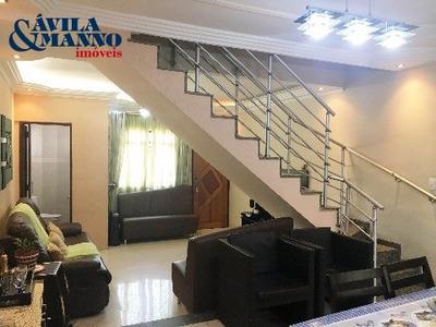 Casa Residencial Em São Paulo - Sp, Mooca - Ca00865