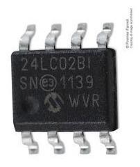 24 Lc02 24-lc02 24lc02 Memoria Eeprom I2c 2 Kb Ecu