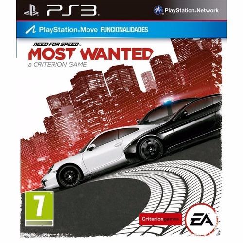 Imagen 1 de 1 de Ps3 Digital Need For Speed Most Wanted - Descarga Digital