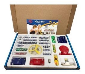 Kit Eletrônica Infantil Juvenil - Montagem De 200 Projetos