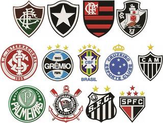 Times De Futebol 500 Matrizes Bordado Pes Exp Xxx