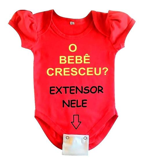 Extensores Para Body Bebê - 5 Unidade- 2 Ou 3 Botões.