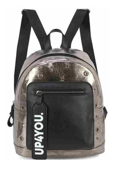 Bolsa Mini Mochila Metalizada Up4you Bu78202
