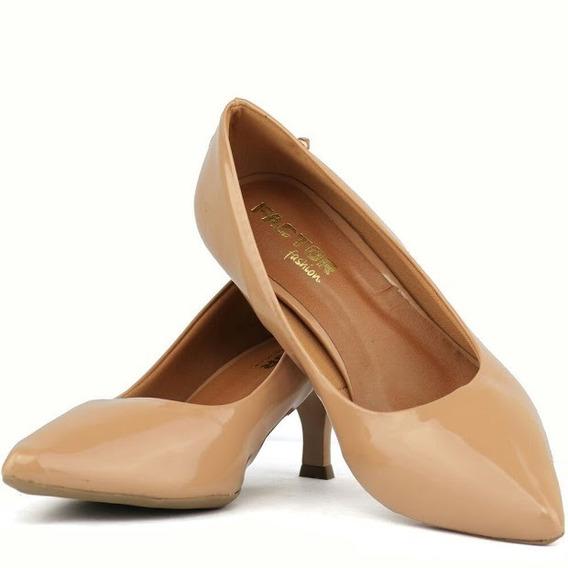 Sandalia Feminina Scarpins Moderna Qualidade Salto Baixo