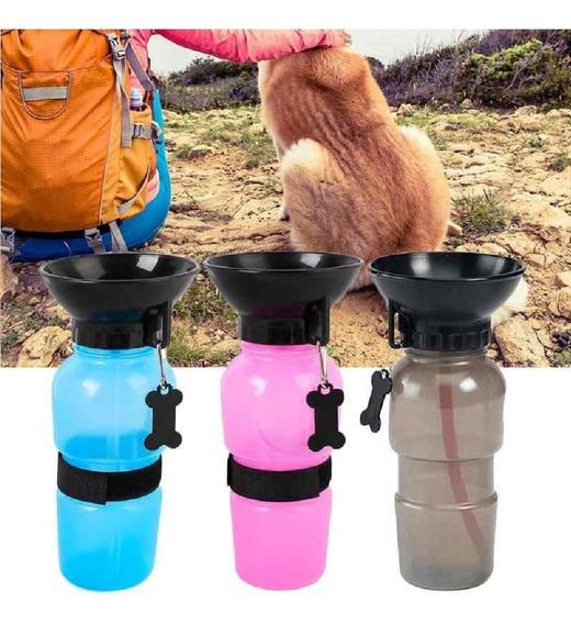 Bebedouro Água Garrafa Portátil Viagem Pet Cão Gato Cachorro