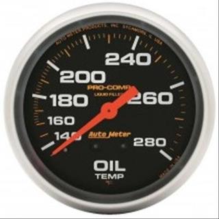 Autometer Temperatura De Aceite Pro Comp Con Glicerina 5441