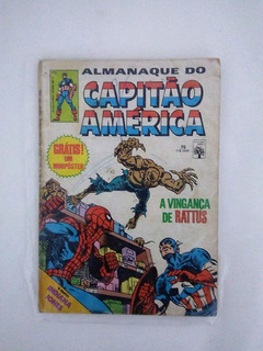Hq Almanaque Do Capitão América Nº 75 Ed Abril