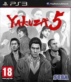 Ps3 Yakuza 5 Juego Digital