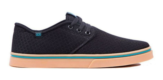 Tênis Skate Hocks Dell Mar Black Mesh Preto Original