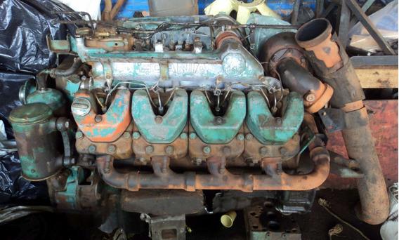 Motor Scania 142 Hs Interculado - Ano 1989 Com 86.000 Km