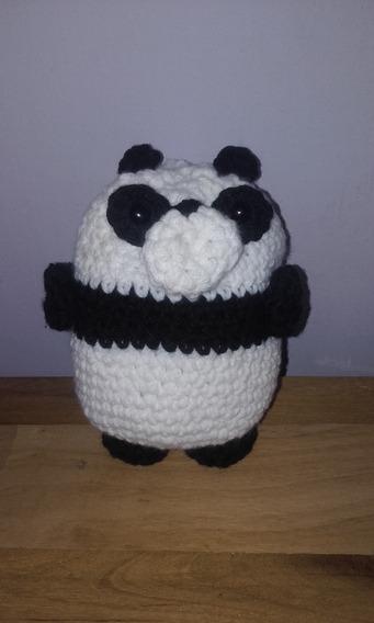 Ursinho panda amigurumi (tutorial) - YouTube | 568x341