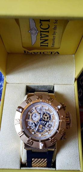 Relógio Invicta Original Subaqua 18528 E Com Nota Fiscal