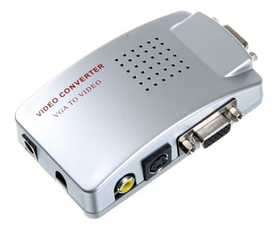 Conversor Adaptador De Bnc, Rca,s-vídeo, Vga Para Monitor