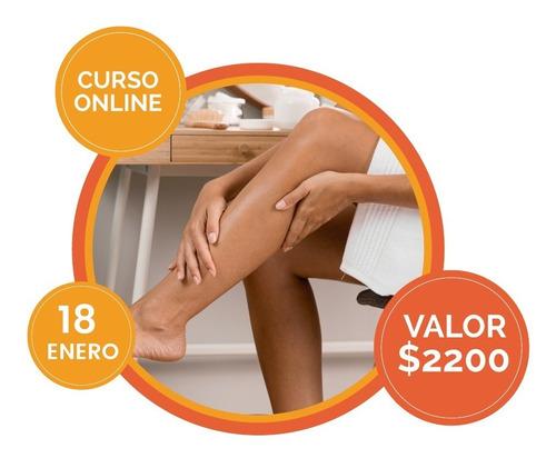Curso Online Piernas Cansadas 18/01 15hs $1500 Hasta El 8/01