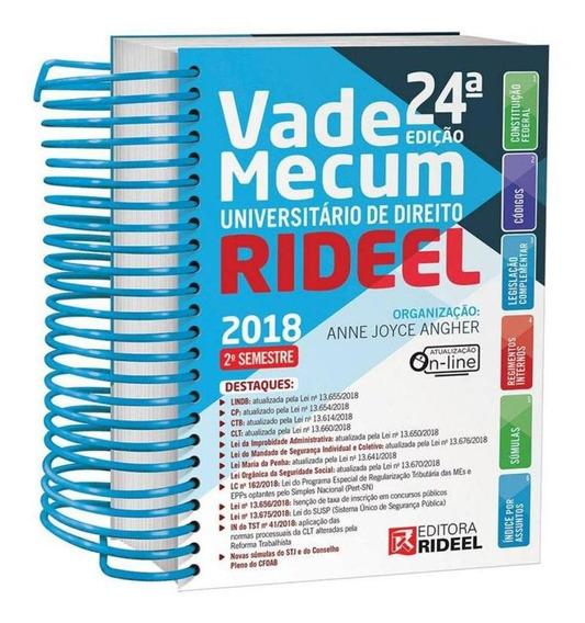 Vade Mecum Universitario De Direito - Espiral - Rideel - 24