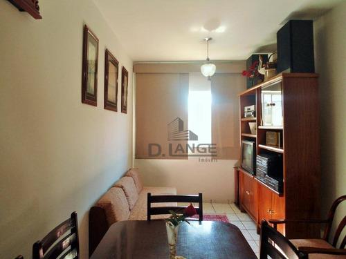 Imagem 1 de 20 de Apartamento Com 1 Dormitório Para Alugar, 50 M² Por R$ 1.000,00/mês - Centro - Campinas/sp - Ap17901