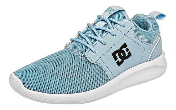 Tenis Juvenil Dc Shoes Midway Sn J 88669 Env Gratis Oi19