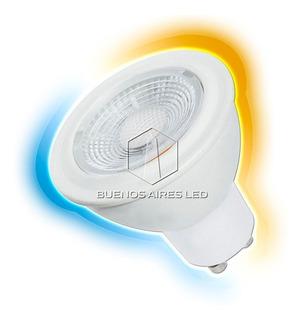 Lampara Led Dicroica 7w Gu10 220v Foco Calido Frio Iluminacion