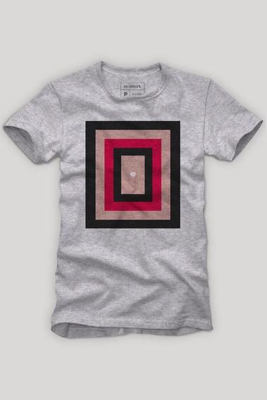Camiseta Coração Moldura Reserva