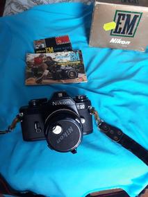 Câmera Fotográfica Analogica Nikon Em Com Lente