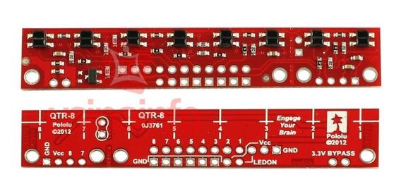 Sensor De Linea (qtr-8a) Arreglo Análogo De (8)
