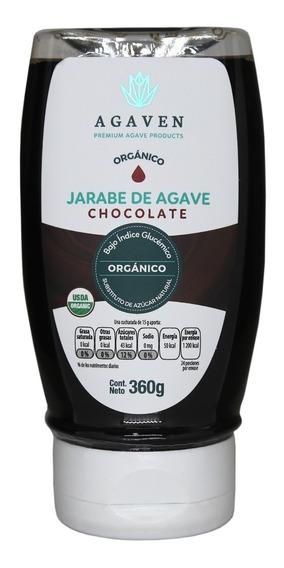 Endulzante De Agave Orgánico Chocolate 360 Gr