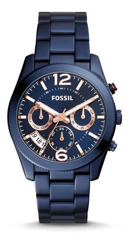 Relojes Fossil Mujer Es4093 Acero Originales En Caja