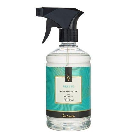Água Perfumada Para Tecidos 500ml Breeze Via Aroma