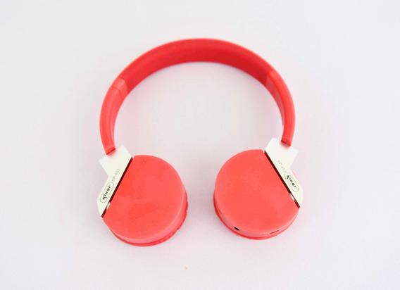 Fone De Ouvido Sem Fio Estéreo Micro Sd 5.0 Entrada P2 Fm