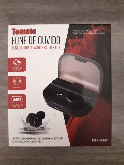 Fone De Ouvido Mtf - 8802 Á Prova D