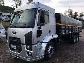 Ford Cargo 2428 - Graneleiro - Fernando Caminhões