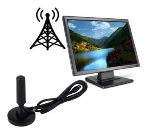 Antena Tdt Televisión Digital Terrestre Base Imantada 3 Mts