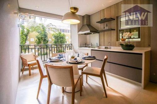 Imagem 1 de 17 de Apartamento À Venda, 188 M² Por R$ 3.185.266,00 - Vila Romana - São Paulo/sp - Ap3172