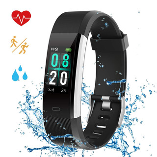 Fitness Tracker Relojes Para Mujer Impermeable Ip68 Act...